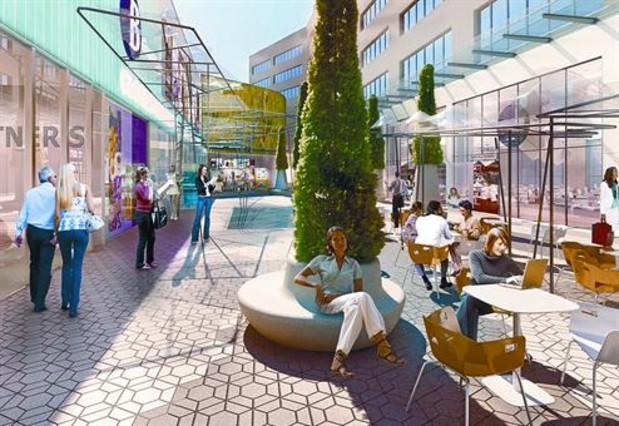 El 39 h per 39 de las gl ries se integra en la trama urbana - El mercat de les glories ...