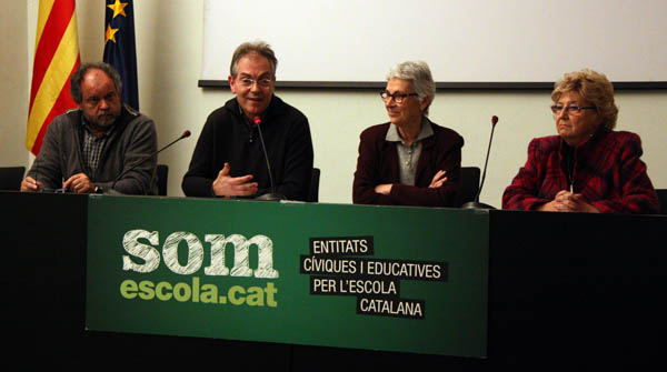 Somescola.cat llama a la movilizaci�n en contra de la reforma educativa.