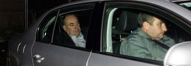 El primer ministro escoc�s Alex Salmond, esta madrugada.