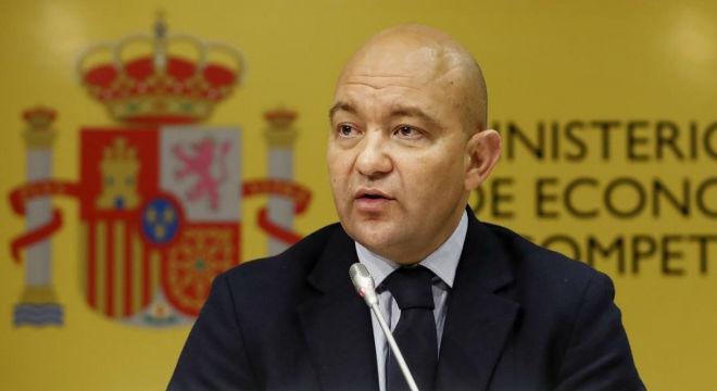 Jaime García-Legaz, en el 2015.