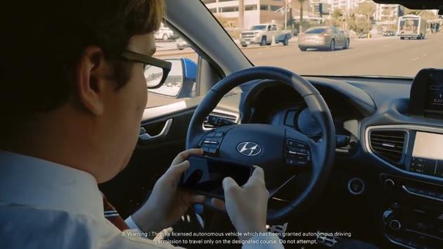 Hyundai rodó este vídeo para presentar su tecnología autónoma.