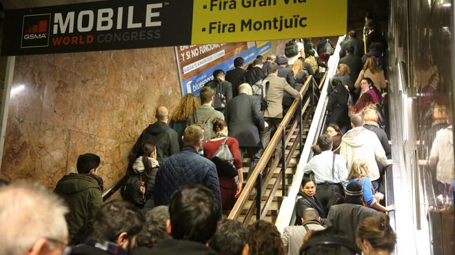 Les vagues resten gairebé 2,4 milions de passatgers al metro en el primer trimestre de l'any