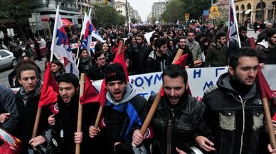 Grècia viu la seva tercera vaga general des de començament d'any