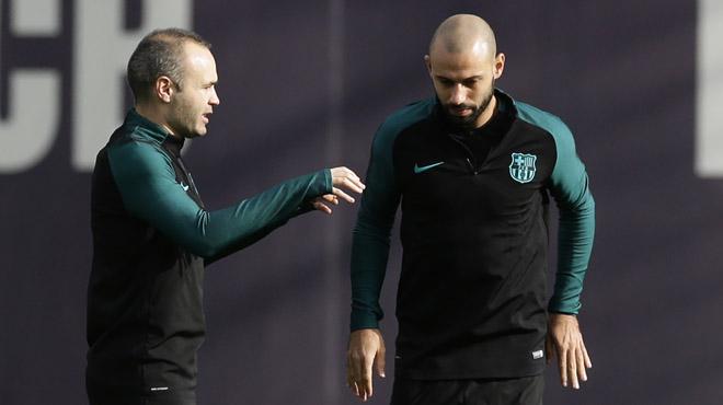 El Barça prepara su encuentro de Champions ante el Borussia M.