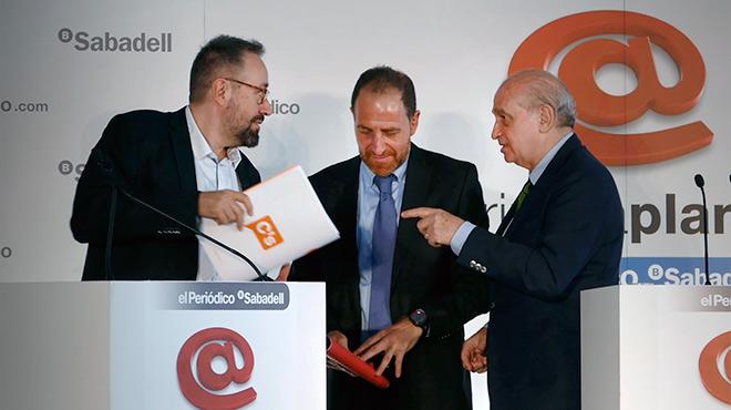 Els candidats de Ciutadans i Partit Popular, debaten sobre les pròximes eleccions per a EL PERIÓDICO