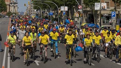 Barcelona celebra la Festa de la Bicicleta aquest diumenge