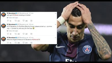 Piratejats els comptes del Barça a les xarxes socials