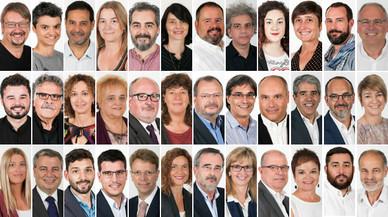 36 dels 47 diputats electes per Catalunya voten 'no' a Rajoy