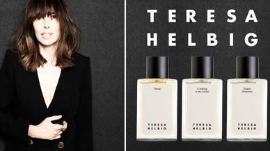 La diseñadoraTeresa Helbig presenta sus perfumes en colaboración con Sara Carner.