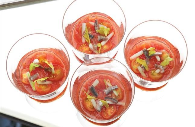 Bloody Mary de cuchara