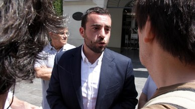 El l�der del PSC en Badalona,�lex Pastor.