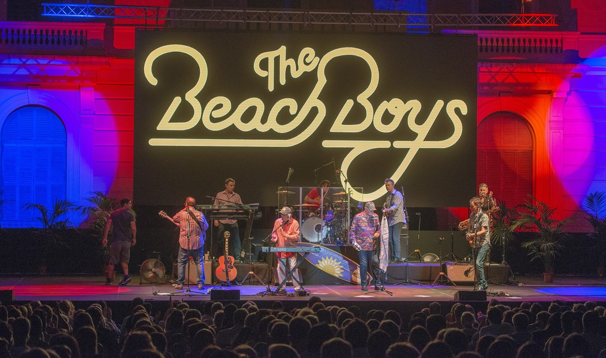 THE BEACH BOYS en el Festival Jardins de Pedralbes