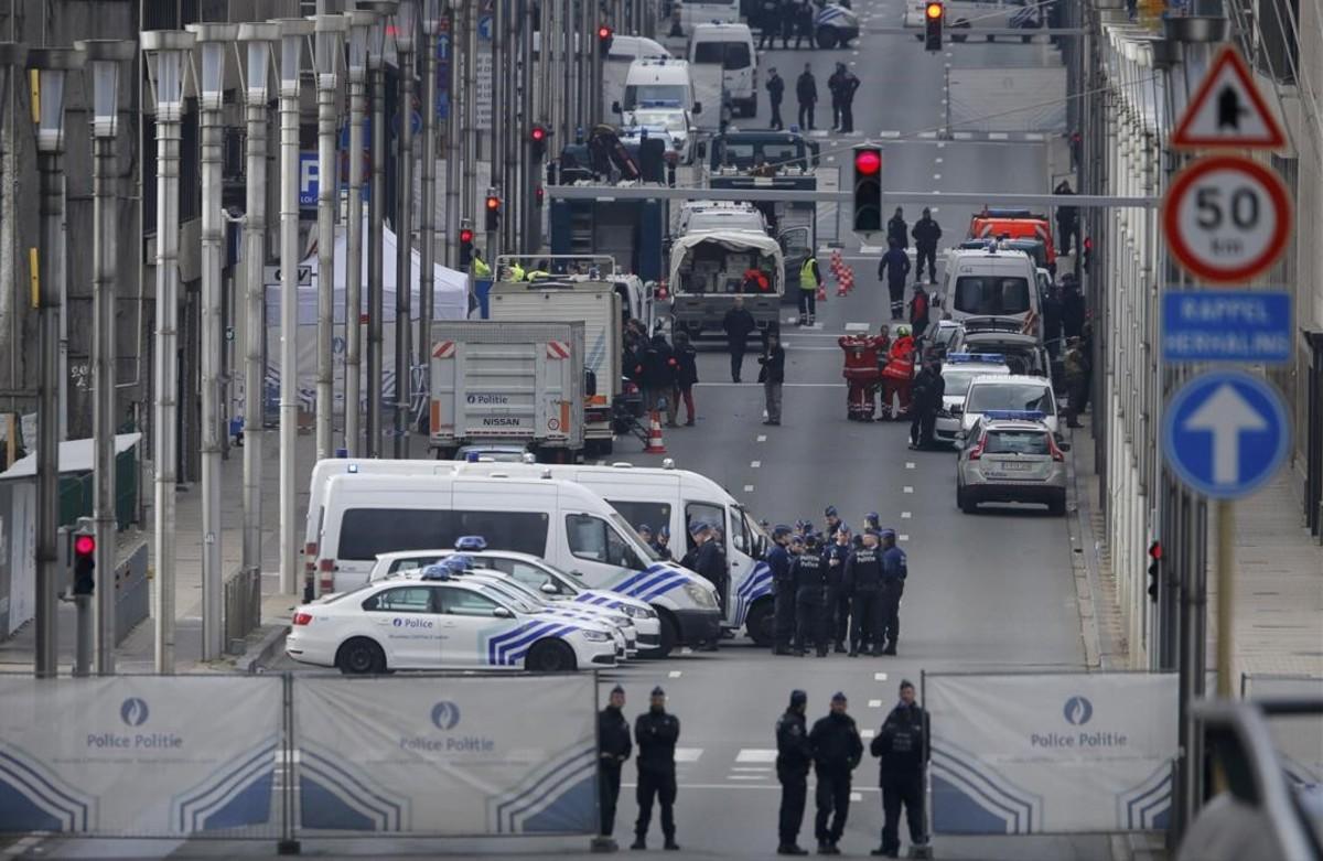 Ba�o de sangre en Bruselas