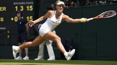 Kerber impedeix la cinquena final entre les Williams a Wimbledon