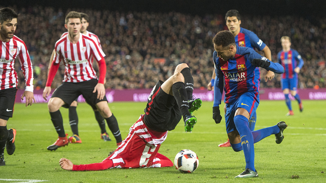 Las mejores fotografias del Barça-Athletic
