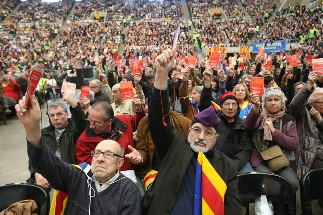 Constituida la Assemblea Nacional Catalana, una plataforma por la independencia de Catalunya