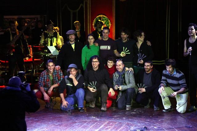 Terrassa Tub d'Assaig 7.70 gana un Premi Zirk�lika por el Festival de Circ de Terrassa