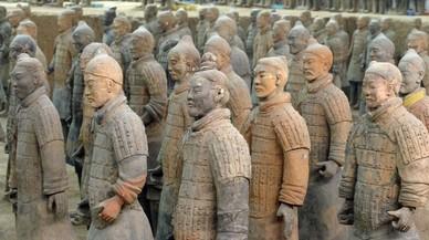Los guerreros de Xian.