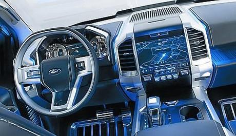 Ford Atlas: Caballo grande