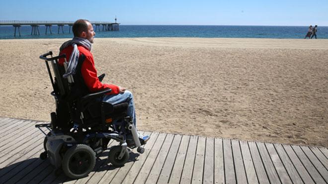 Raúl Sánchez, tetraplègic i exjugador de futbol, explica la seva nova vida.
