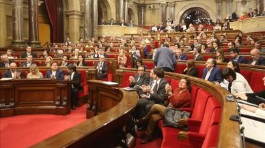 Malestar entre los letrados del Parlament por las iniciativas independentistas