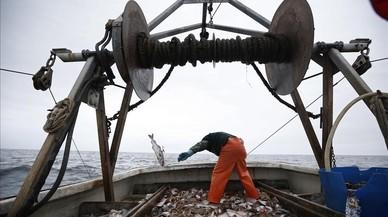 Una embarcaci�ndedicadaa la pesca de bacalao.