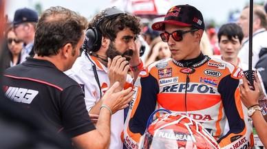 Márquez torna boig Rossi i els equips de MotoGP