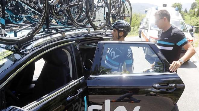 Landa se'n va del Giro i Valverde es col·loca tercer