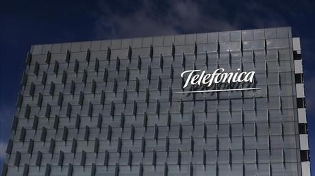 Sede central de Telef�nica, en Madrid.
