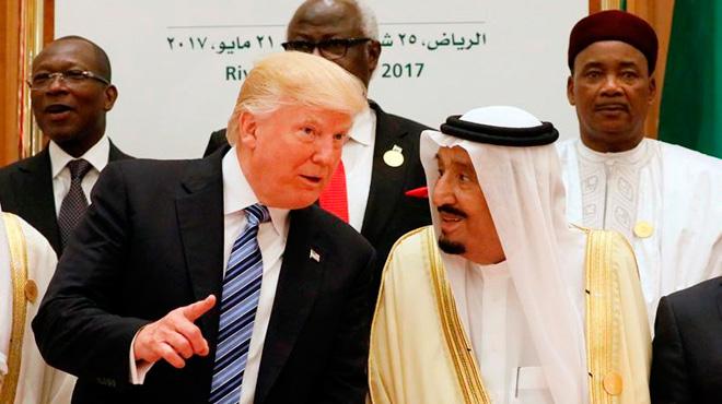 El president nord-americà finalitza la seva visita a l'Aràbia Saudita