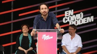 Iglesias, Colau i Domènech defensaran la sobirania de Catalunya en un acte de la Diada