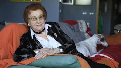 """Clara Perera: """"L'únic que demano abans de morir és que hi hagi pau"""""""
