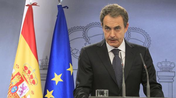 En una rueda de prensa en el Palacio de la MoncloaZapatero ha valorado el comunicado realizado por la banda terrorista.