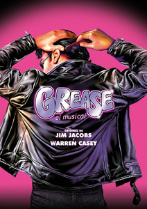 Cartel del musical 'Grease' undefined