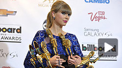 Taylor Swift, la gran ganadora de los premios Billboard