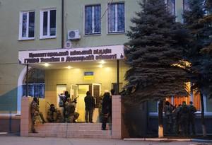 Ucrania lanza una operación antiterrorista en la ciudad de Slaviansk