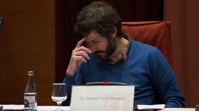 Oleguer Pujol: No gestiono, ni he gestionat res de la meva família, ni dels meus germans, ni dels meus pares