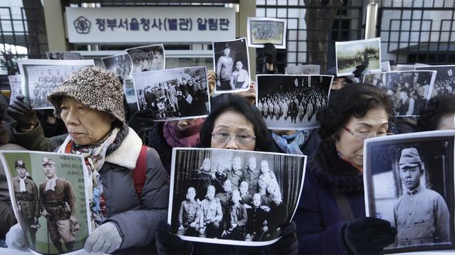 El Japó i Corea del Sud arriben a un acord definitiu sobre les esclaves sexuals de la segona guerra mundial