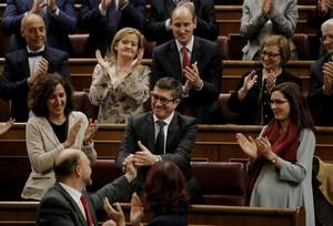 Patxi López, presidente del Congreso