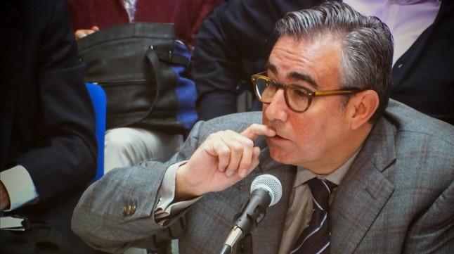 Diego Torres, durante su declaración este jueves en el juicio del caso Nóos.
