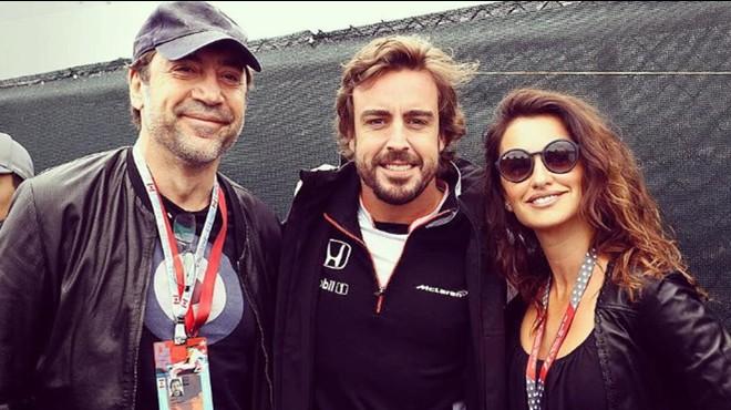 Bardem i Cruz, fans d'Alonso