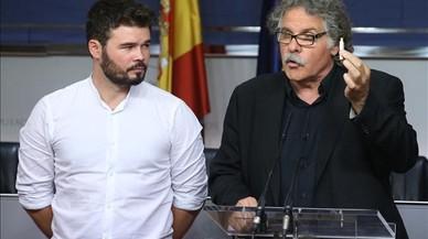 ERC dedueix que Rajoy confia a ser investit amb l'abstenció del PSOE