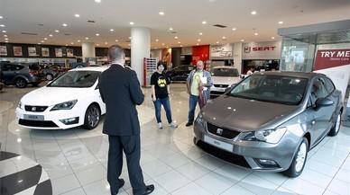 Les vendes de cotxes van pujar un 10,7% al gener