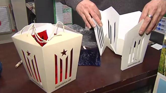 Polémica por la venta de farolillos independentistas para la cabalgata de los Reyes Magos en Vic