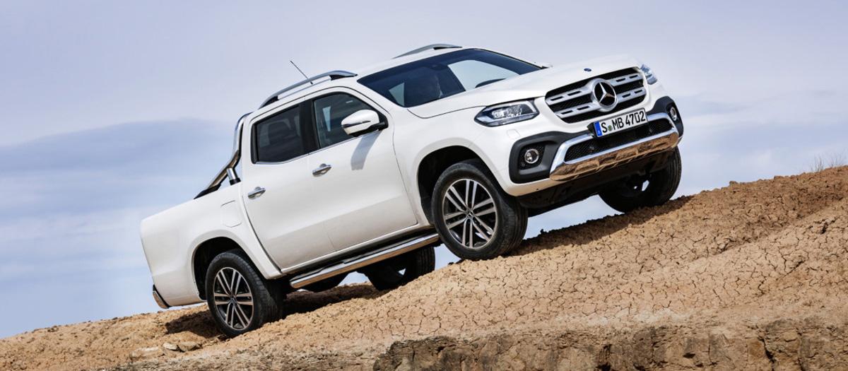 Mercedes apunta al éxito en el segmento pick-up con el Clase X (ES)