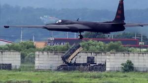 Un avión de EEUU participa en las maniobras en la base aérea de Osan, en Pieongtaek, el 21 de agosto.