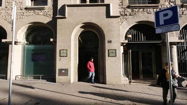 La Policía registra el Instituto de Estadística de Catalunya en busca del censo del 1-O