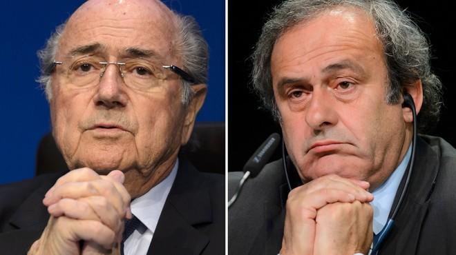 La FIFA condemna Blatter i Platini