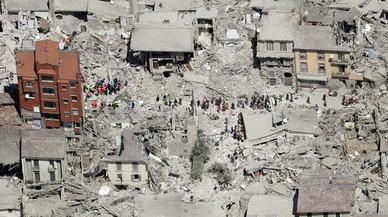 Fotogaler�a del terremoto en Italia