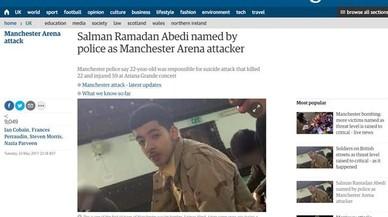 El autor del atentado suicida en el Manchester Arena es un joven británico de origen libio